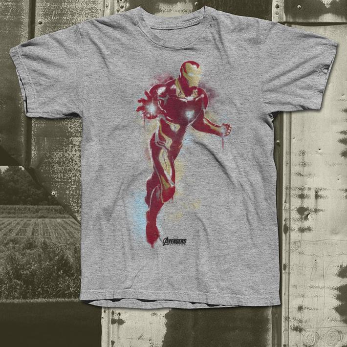 Marvel Avengers Endgame Iron Man Spray Paint shirt 4 - Marvel Avengers Endgame Iron Man Spray Paint shirt