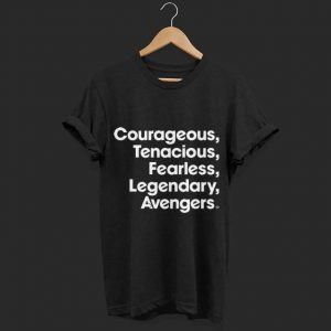 Marvel Avengers Endgame Name Stack shirt