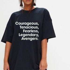 Marvel Avengers Endgame Name Stack shirt 2