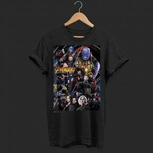 Marvel Avengers Infinity War Group shirt