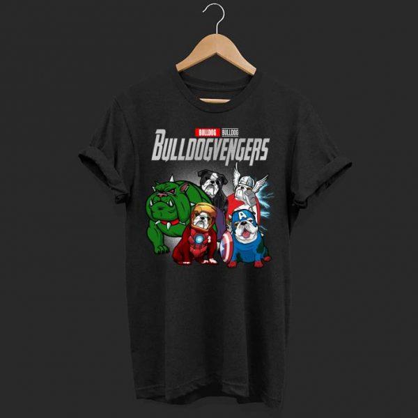 Marvel avenger Bull Dog shirt
