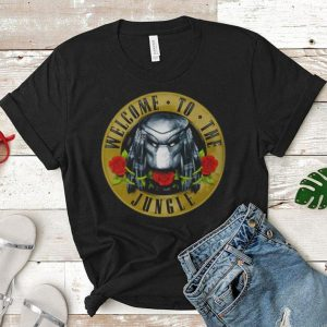 Predator welcome to the jungle shirt