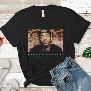 RIP Rest in Peace Nipsey Hussle Crenshaw shirt