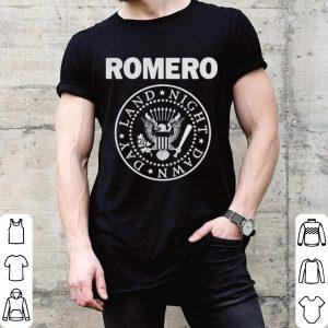 Romero Ramones Night Dawn Day Land shirt