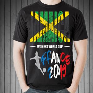 Jamaica Football Flag Women World Cup France 2019 shirt