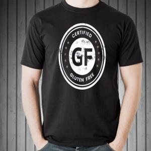 Certified Gluten Free Seal shirt