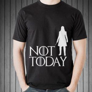Arya Not Today Game Of Throne shirt 1