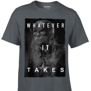 Avengers Endgame Captain America What Ever It Takes shirt