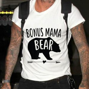 Bonus Mama Bear Best Stepmom Mother's Day shirt