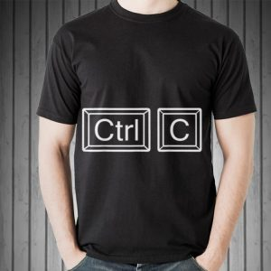 Ctrl C Copy Paste Father and Son shirt