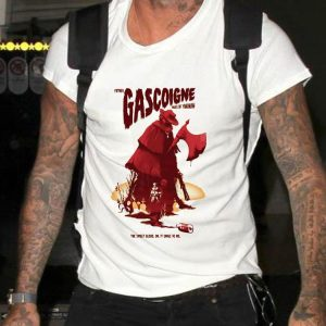Father Gascoigne takes of yharnam the sweet blood oh it sings to me shirt
