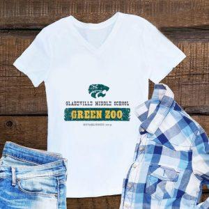 GMS Wildcats Green Zoo shirt