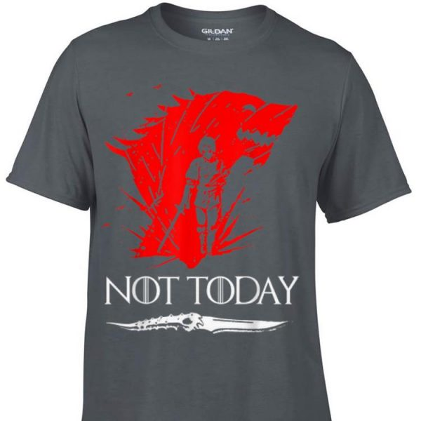 Game Of Throne Not Today Death Valyrian Dagger shirt