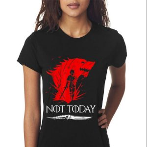 Game Of Throne Not Today Death Valyrian Dagger shirt 2