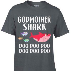 Godmother Shark doo doo doo Mothers Day Family shirt