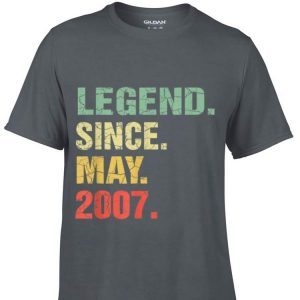 Legend Since May 2007 shirt
