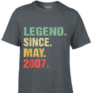 Legend Since May 2007 shirt