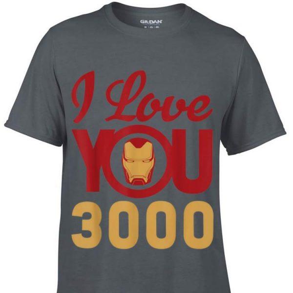 Marvel Avengers Endgame Iron Man I Love You 3000 Father day shirt