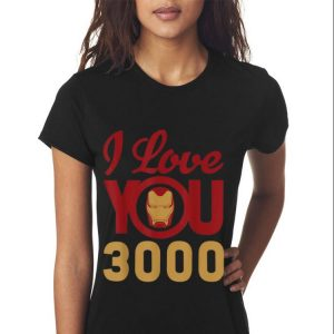 Marvel Avengers Endgame Iron Man I Love You 3000 Father day shirt 2
