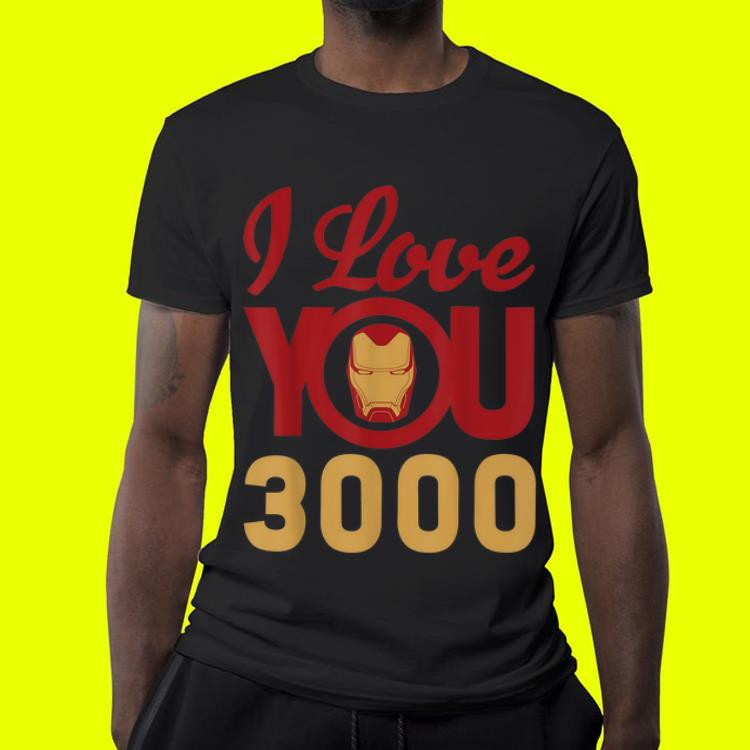 092783a2 Marvel Avengers Endgame Iron Man I Love You 3000 Father day shirt ...