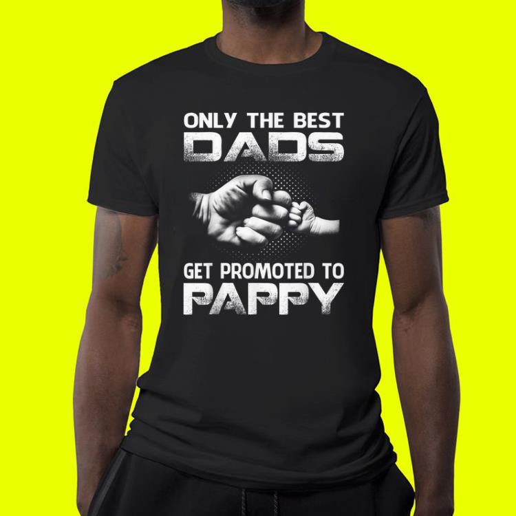Only The Best Dads Get Promoted To Pappy shirt 4 1 - Only The Best Dads Get Promoted To Pappy shirt
