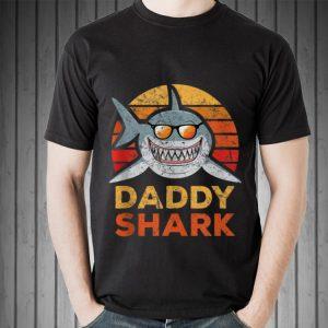 Retro Daddy Shark shirt