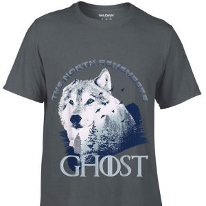 The North remember Ghost Wolf in the forest shirt