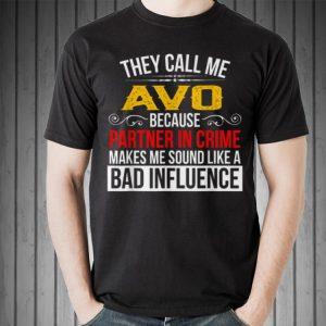 They call me Avo Grandpa shirt