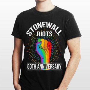 50th Anniversary Stonewall Riots Anniversary Rainbow shirt