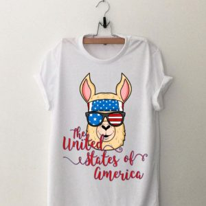 Alpaca Llama United States Of America Idea shirt