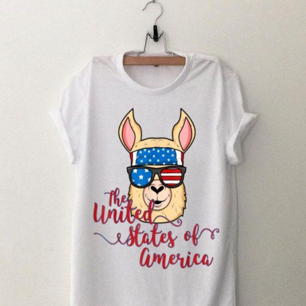 Alpaca Llama United States Of America Idea shirt