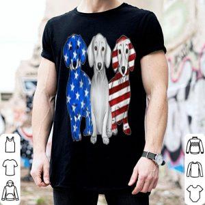 American Flag Dachshund Dogs 4th Of July shirt
