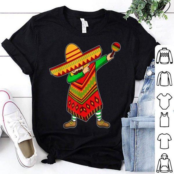 Cinco De Mayo Sombrero Mexican Dabbing Poncho shirt