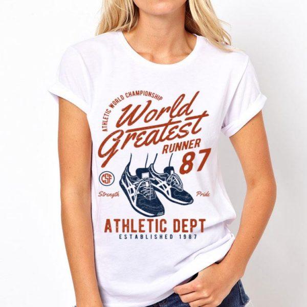 Crazy Factory World Greatest Runner shirt
