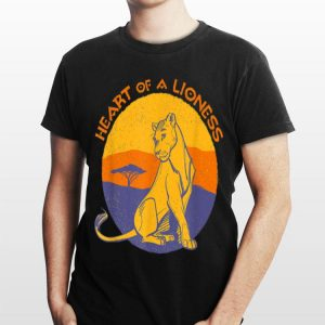 Disney Lion King Nala Heart of a Lioness Live Action shirt