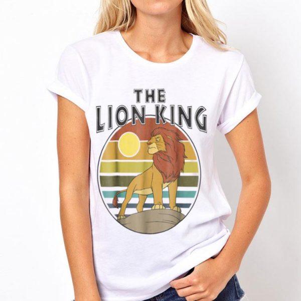 Disney Lion King Retro Simba Sunset shirt
