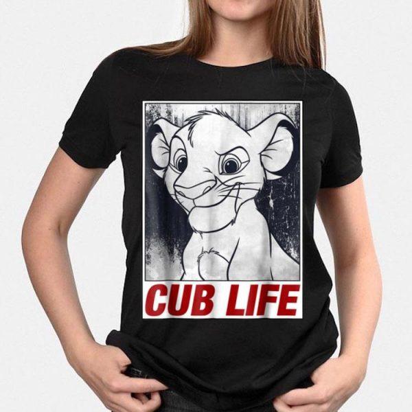 Disney Lion King Simba Cub Life Streetwear Poster shirt