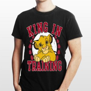 Disney Lion King Simba King In Training Circle Portrait shirt
