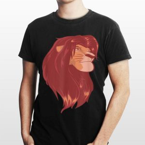 Disney Lion King Simba Pastel Artsy Portrait shirt