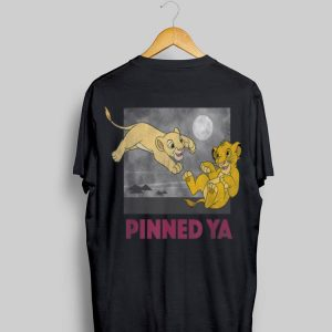 Disney Lion King Young Simba Nala Pinned Ya shirt