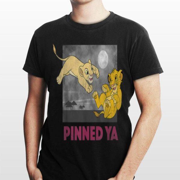 Disney Lion King Young Simba Nala Pinned Ya shirt