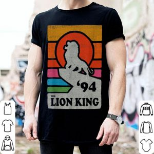 Disney The Lion King Pride Rock Retro Line Art Poster shirt