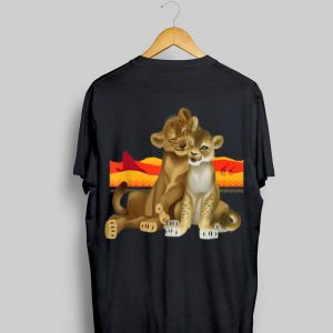 Disney The Lion King Young Simba Nala Live Action shirt