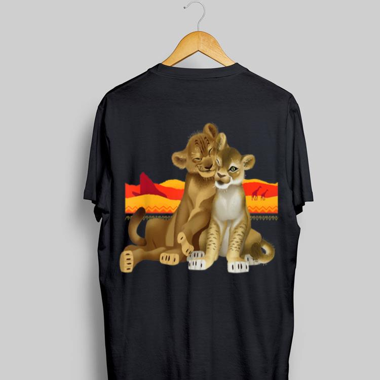 1a359da9 Disney The Lion King Young Simba Nala Live Action shirt