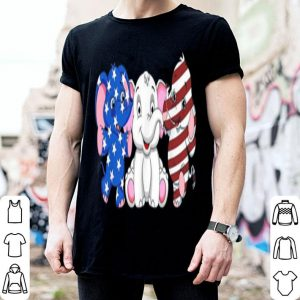 Elephant America Flag 4th Of July Independence Day shirt