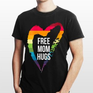 Free Mom Hugs LGBT Vneck shirt