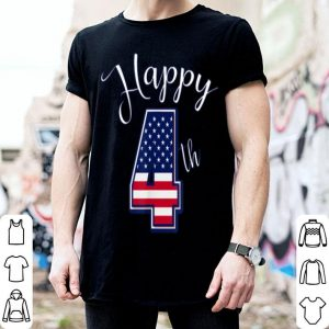 Happy 4th American Flag Independence Day shirt
