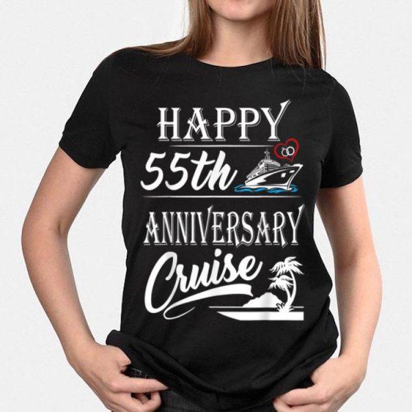 Happy 55th Anniversary Cruise shirt