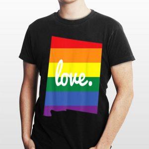 LGBT Gay Pride New Mexico Love shirt