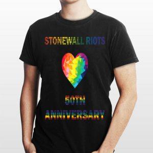 Lgbt Pride Stonewall Riots 50th Anniversary shirt